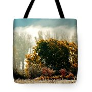 Foggy Frost Tote Bag
