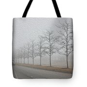 Foggy January Tote Bag