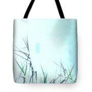 Foggy  Marsh Mornng Tote Bag