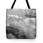 Sky And Earth Tote Bag