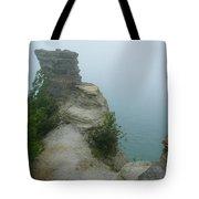 Foggy Overlook Tote Bag