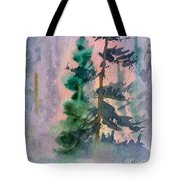 Foggy Patch Tote Bag