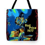Foghat In Spokane 1977 Tote Bag