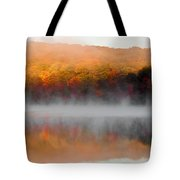 Foilage In The Fog Tote Bag