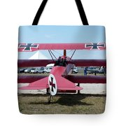 Fokker Dr.i Tote Bag