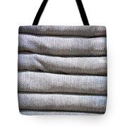 Folded Denim Tote Bag