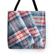 Folded Fabric Tote Bag
