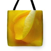 Folds Of A Rose - Digital Painting Effect Tote Bag