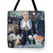 Folies Bergere Revisited Tote Bag