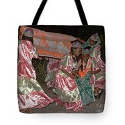 folk dance group from Madagascar 2 Tote Bag