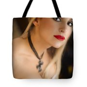 Follow Me Into The Night Tote Bag