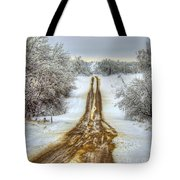 Follow The Brown Tote Bag