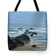 Follow The Ocean Waves Tote Bag
