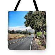 Follow The Road To Julian Tote Bag