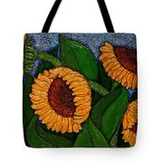 Followers Of The Sun Tote Bag