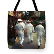 Following The Fleet Tote Bag