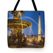 Fontaine Des Mers Tote Bag