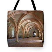 Fontenay Abbey Cross Vault Tote Bag