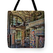 Fonthill Castle Library Room Tote Bag
