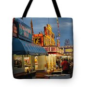 Food Court Tote Bag by Skip Willits