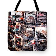 Food From The Sea Tote Bag