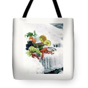 Food On Ice Tote Bag