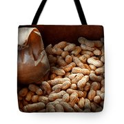 Food - Peanuts  Tote Bag by Mike Savad
