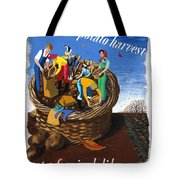 Food Production Lend A Hand With The Potato Harvest Tote Bag
