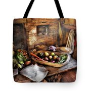 Food - The Start Of A Healthy Meal  Tote Bag