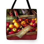 Food - Vegetables - Sweet Peppers For Sale Tote Bag