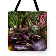 Food - Vegetables - Very Fresh Produce  Tote Bag