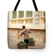 Food Vendor On Street Hanoi Vietnam Tote Bag