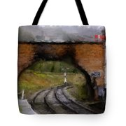 Foot Bridge. Tote Bag