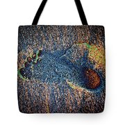 Foot In The Sand Tote Bag