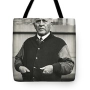 Football Coach Alonzo Stagg Tote Bag
