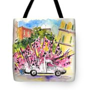 Football Flags From Palermo Tote Bag