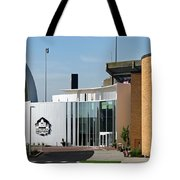 Football Hall Of Fame In Canton Tote Bag