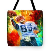 Football II Tote Bag by Lourry Legarde