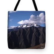 Foothill Of The Andes Tote Bag