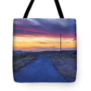 Foothill Sunset Tote Bag