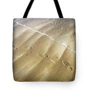 Footsteps Tote Bag