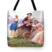 For A Day S Outing Tote Bag