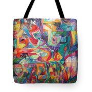For He Nourishes And Sustains All Tote Bag