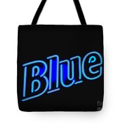 For You Madame Blue Tote Bag