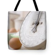 For The Baker Vintage Kitchen Scale  Tote Bag