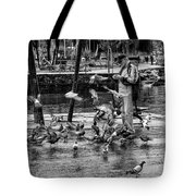 For The Birds Bw1 Tote Bag