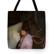 For The Love Of A Horse Tote Bag
