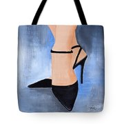 For The Love Of Shoes Tote Bag