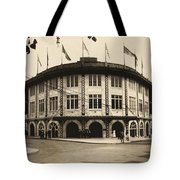 Forbes Field Pittsburgh 1909 Tote Bag