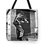 Forced Entry Derry Mural Tote Bag